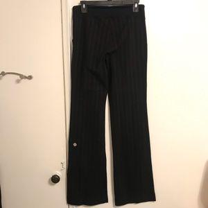 Lululemon RARE ✨ Be Still Pants pinstripes